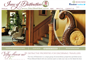 Inns of Distinction Website